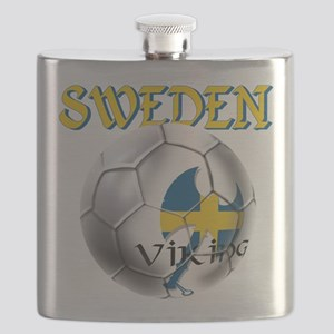 Sweden Football Flask