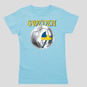 Sweden Football Girl's Tee