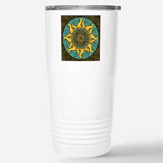 Mosaic Sun Stainless Steel Travel Mug