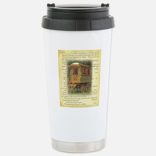 gypsy wagon 2 Stainless Steel Travel Mug