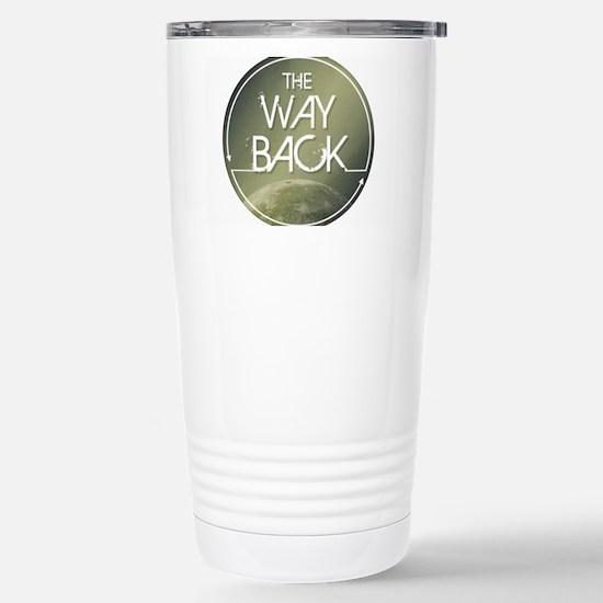 The Way Back Logo Stainless Steel Travel Mug