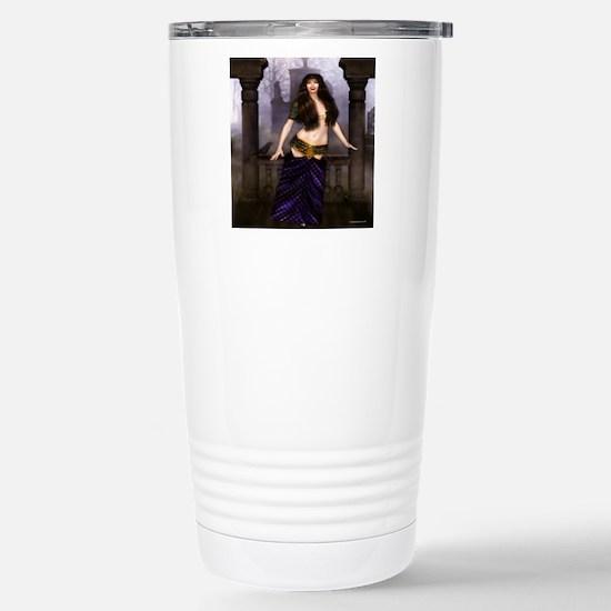 The Vampire Countess Stainless Steel Travel Mug