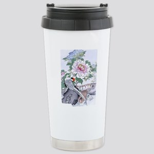 IPAD2_518 Pheasant Peon Stainless Steel Travel Mug