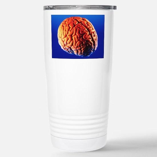 Human brain Stainless Steel Travel Mug