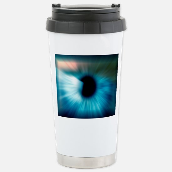 Human eye Stainless Steel Travel Mug