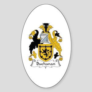 Buchanan Oval Sticker