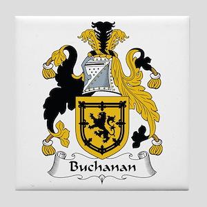 Buchanan Tile Coaster