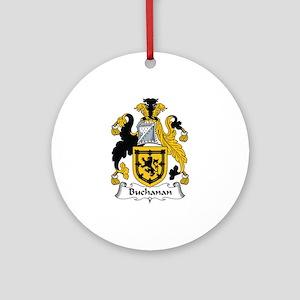 Buchanan Ornament (Round)