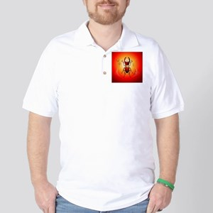 Stag beetle Golf Shirt