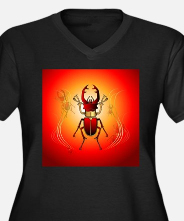 Stag beetle Plus Size T-Shirt