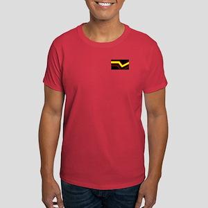 Rubber Flag Red Pocket Design T-Shirt