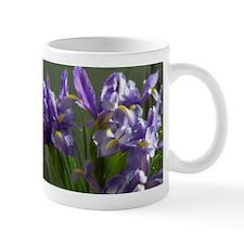 Twirl Purple Iris Flower Photo Mugs
