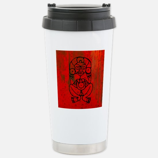 Atabey, Taino Goddess Stainless Steel Travel Mug