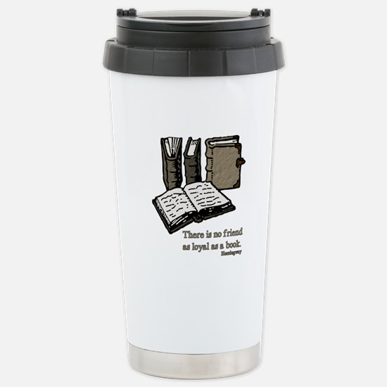 Books-3-Hemingway Stainless Steel Travel Mug