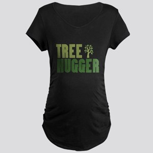 Tree Hugger B Maternity T-Shirt