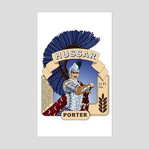 Hussar Porter Rectangle Sticker