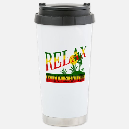 Relax Stainless Steel Travel Mug