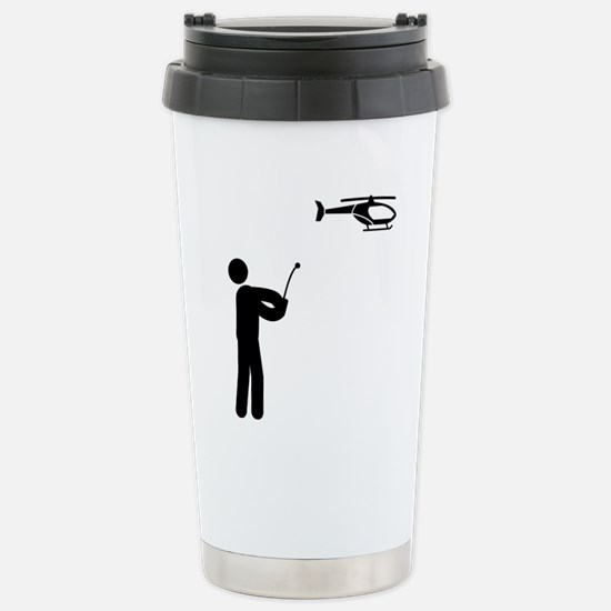 Remote-Control-Helicopt Stainless Steel Travel Mug