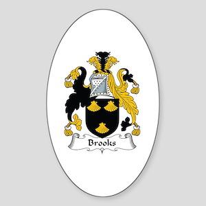 Brooks Oval Sticker