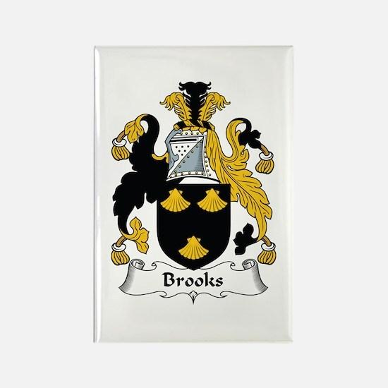 Brooks Rectangle Magnet