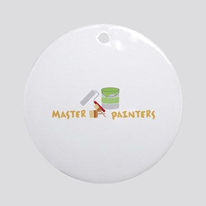 Master Painters Ornament (Round)