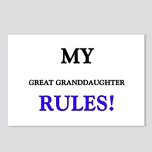 My GREAT GRANDDAUGHTER Rules! Postcards (Package o