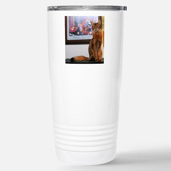 Nibbles Stainless Steel Travel Mug