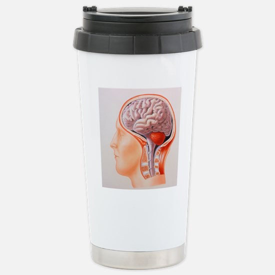 Illustration of the who Stainless Steel Travel Mug