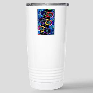 DNA molecule Stainless Steel Travel Mug