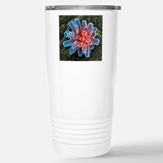 Calcium phosphate cryst Stainless Steel Travel Mug