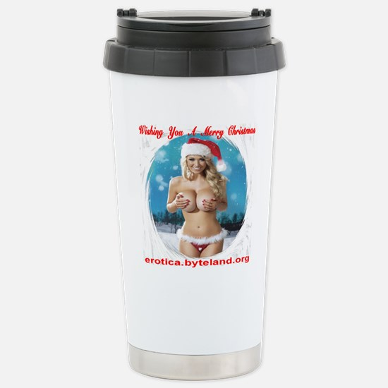 Wishing You A Merry Chr Stainless Steel Travel Mug