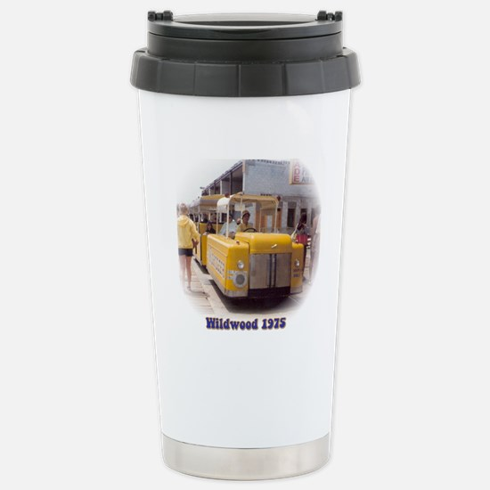 Boardwalk Tram Stainless Steel Travel Mug