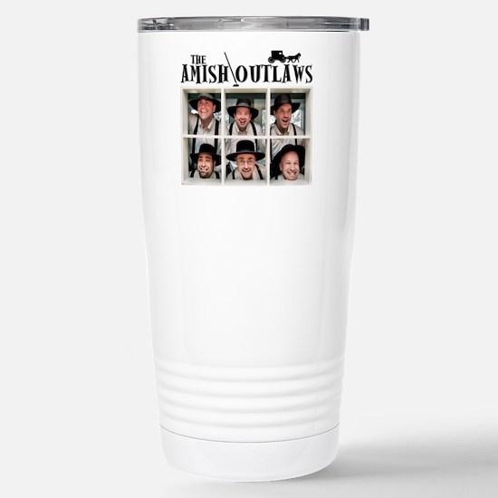 Amish Outlaws Kid Shirt Stainless Steel Travel Mug