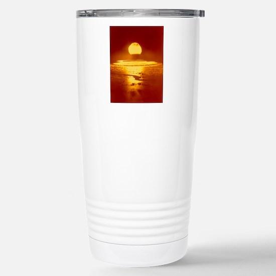 Bikini Atoll atomic bom Stainless Steel Travel Mug