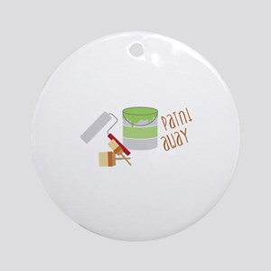 paint away Ornament (Round)