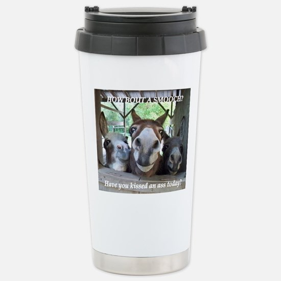 KISS THIS Stainless Steel Travel Mug