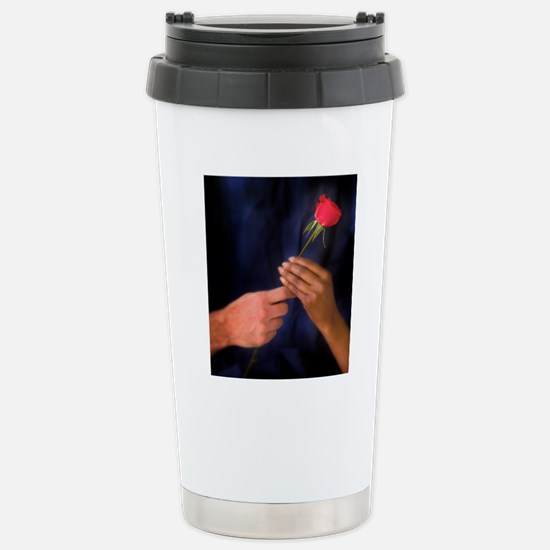 The Rose Exchange Stainless Steel Travel Mug