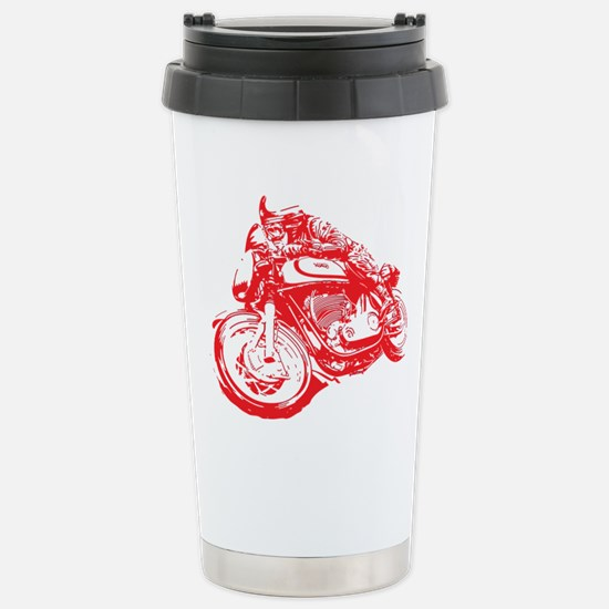 Norton Cafe Racer Stainless Steel Travel Mug