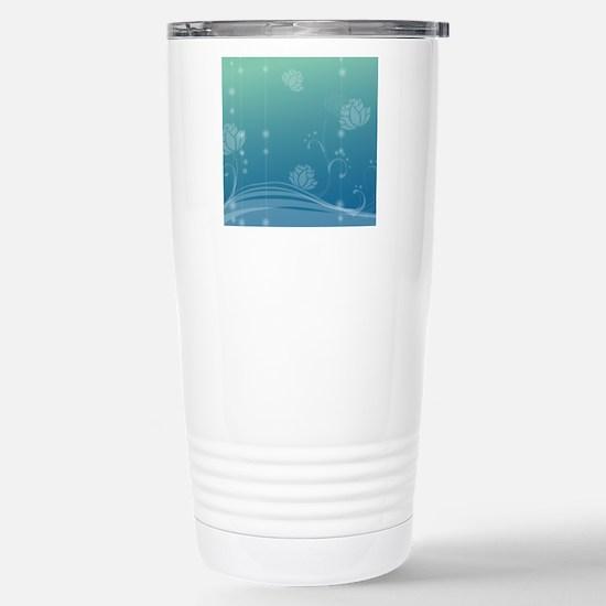 Lotus Gel Mousepad Stainless Steel Travel Mug