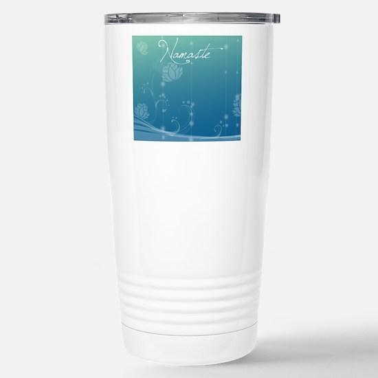 Namaste Picture Frame Stainless Steel Travel Mug