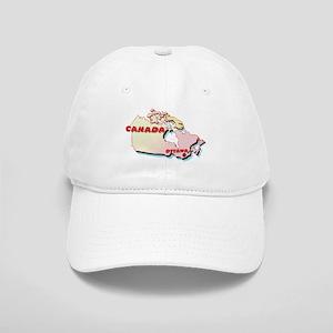 Canada Map Cap