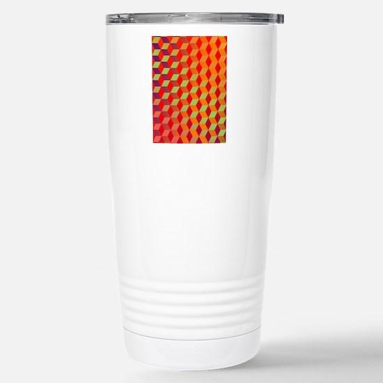 tumblingblocks05 Stainless Steel Travel Mug