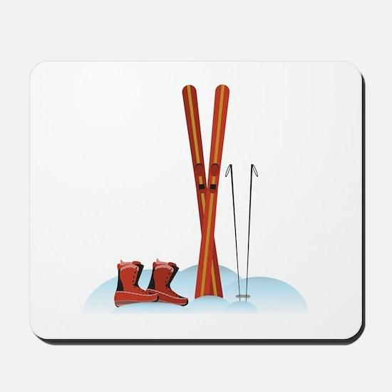 Ski Gear Mousepad