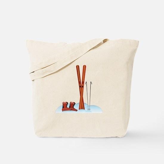 Ski Gear Tote Bag