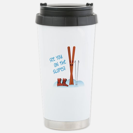 See you on the slopes! Travel Mug