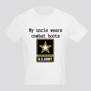 My Uncle Wears Combat Boots Army T-Shirt