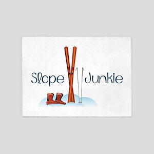 Slope Junkie 5'x7'Area Rug