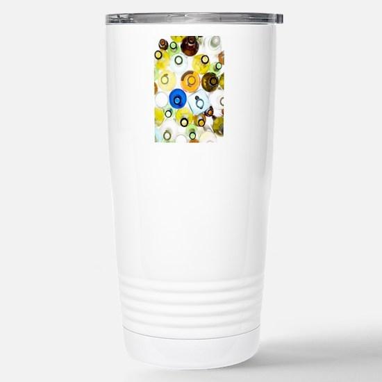 Empty glass bottles Stainless Steel Travel Mug