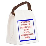 tennis Canvas Lunch Bag