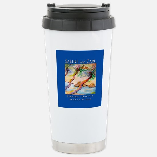 final_signature_tile Stainless Steel Travel Mug
